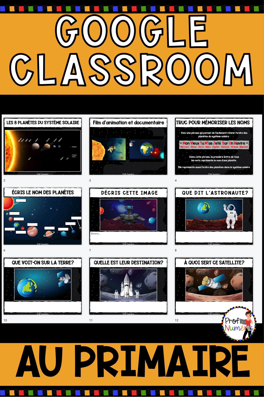 Google Classroom Au Primaire - Prof Numéric encequiconcerne Idées Activités Tap Primaire