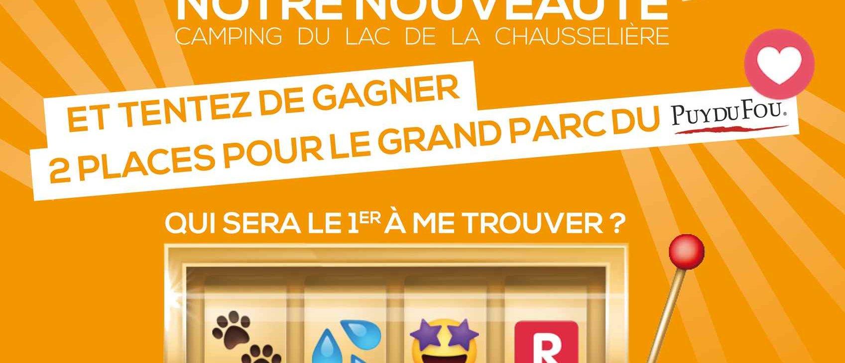 Grand Jeu Concours Rébus | Camping Du Lac De La Chausselière*** destiné Jeux De Rebus