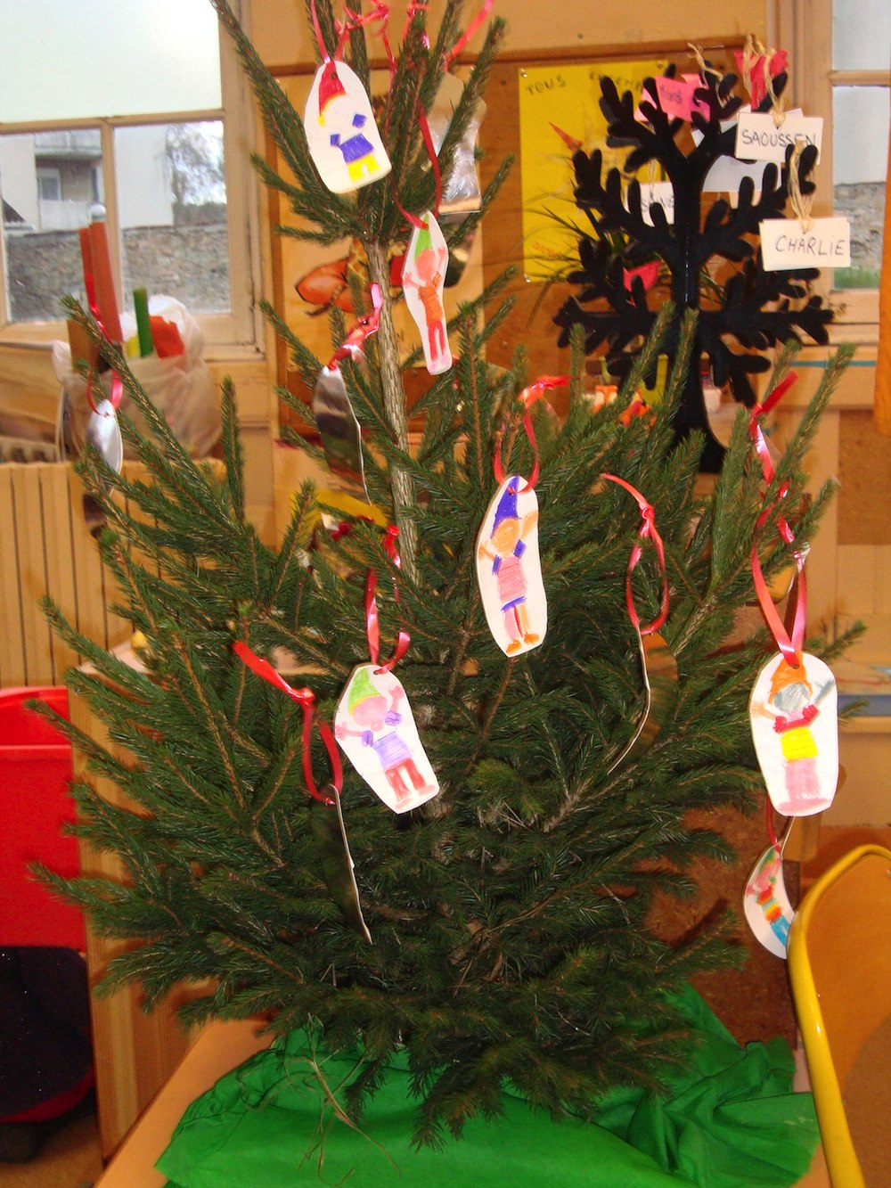 Grande Section - Cp - Mois De Décembre - Décoration De Noël tout Bricolage Cp Noel
