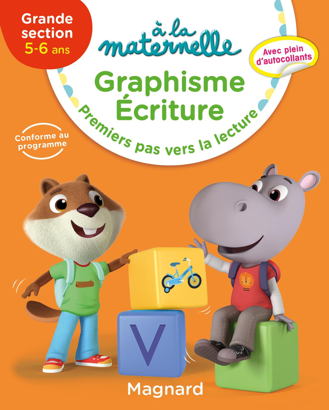 Graphisme Grande Section 5-6 Ans - A La Maternelle | Magnard intérieur Grande Section Maternelle Age