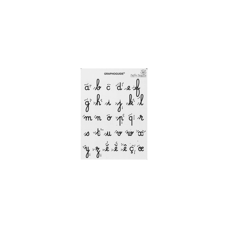 Graphoguide Lettres Minuscules Cursives serapportantà T Majuscule En Cursive