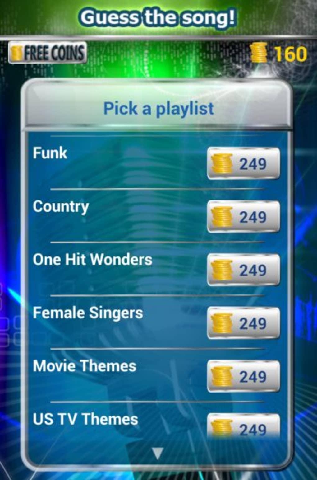 Guess The Song Pour Android - Télécharger intérieur Quiz Musical En Ligne