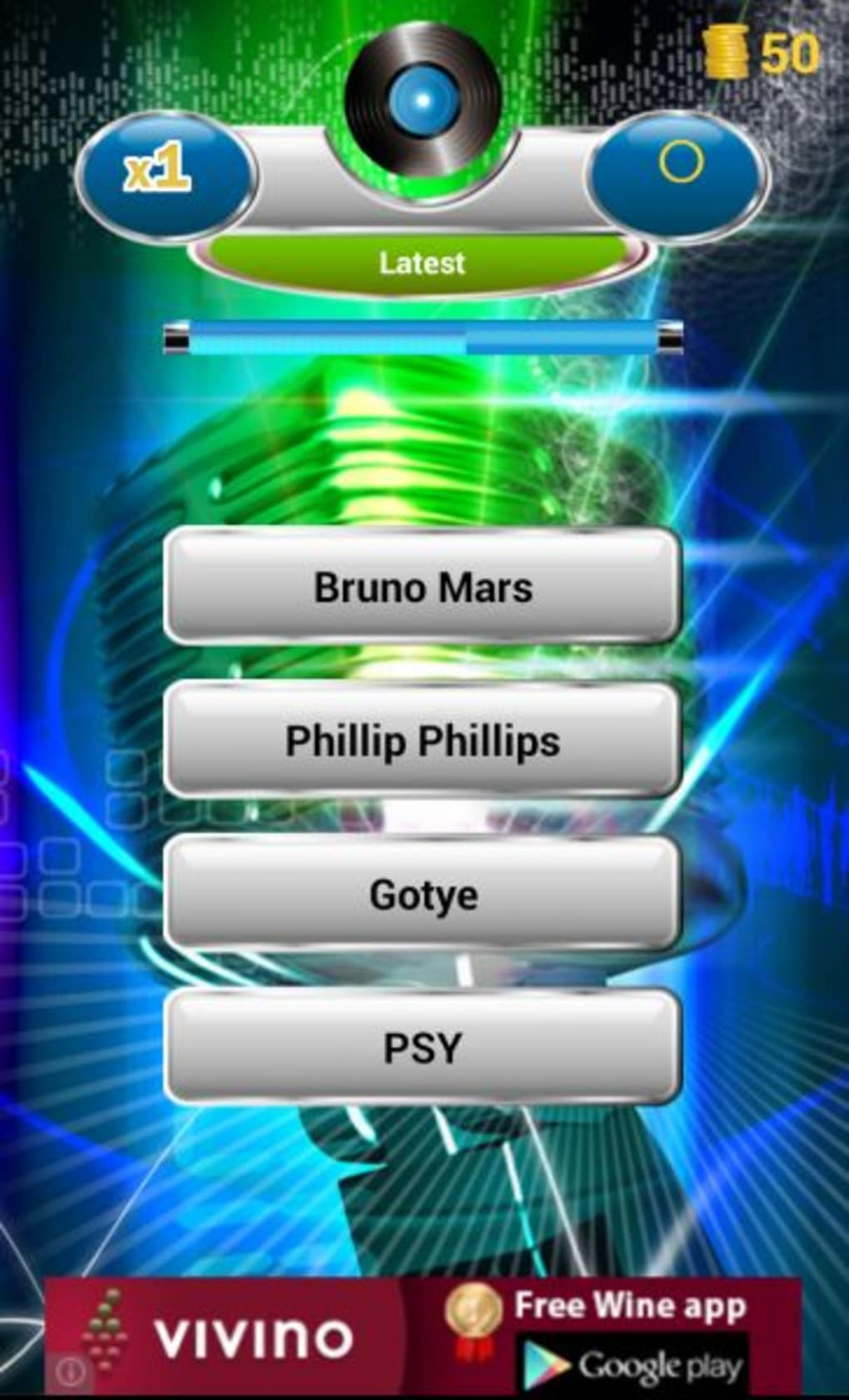 Guess The Song Pour Android - Télécharger tout Quiz Musical En Ligne