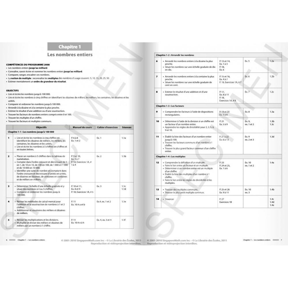 Guide Pédagogique De Singapour Cm1 - Hoptoys avec Leçon Respiration Cm1
