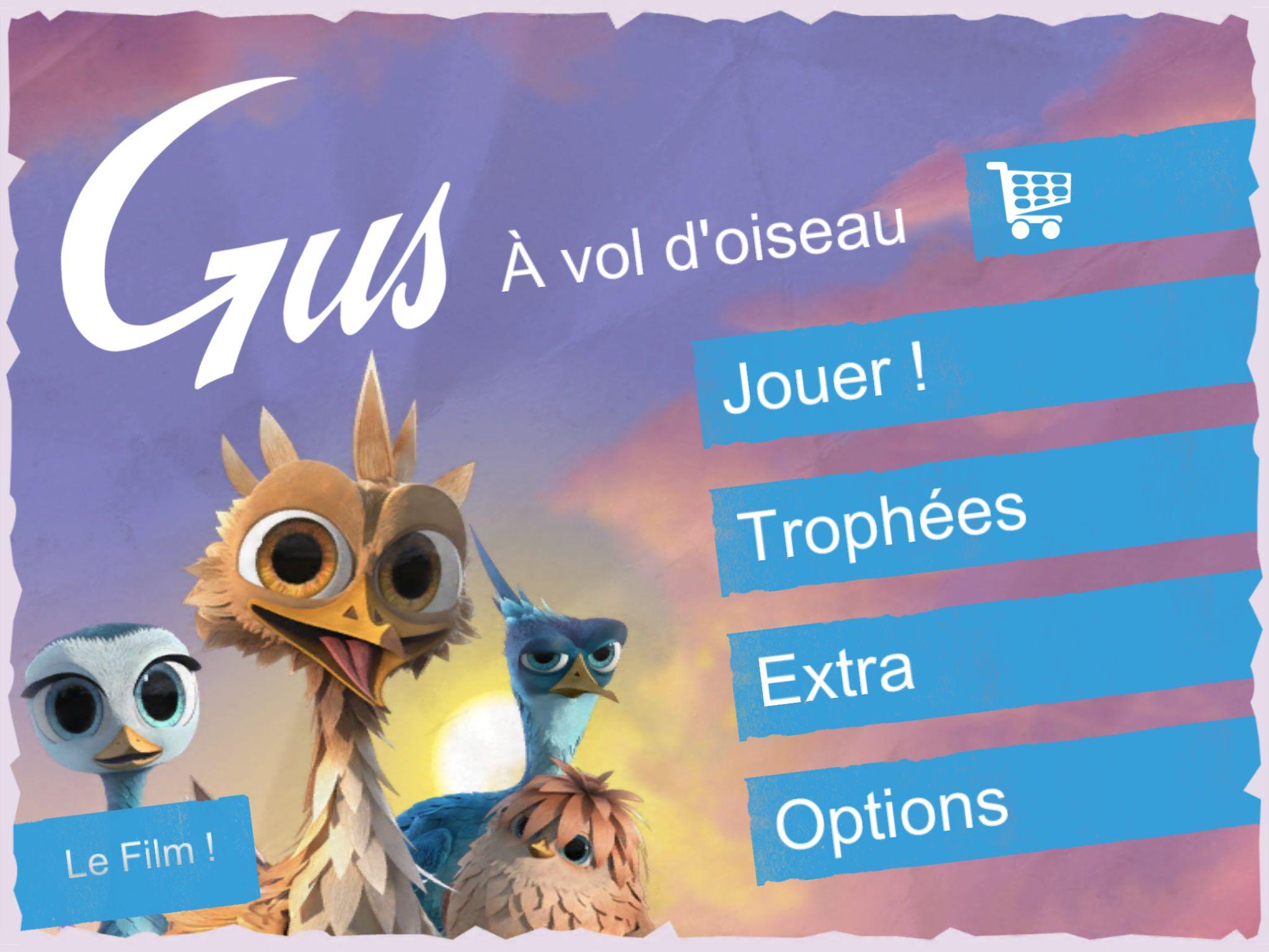 Gus – À Vol D'oiseau - Aperçu - Game-Guide tout Vol Petit Oiseau