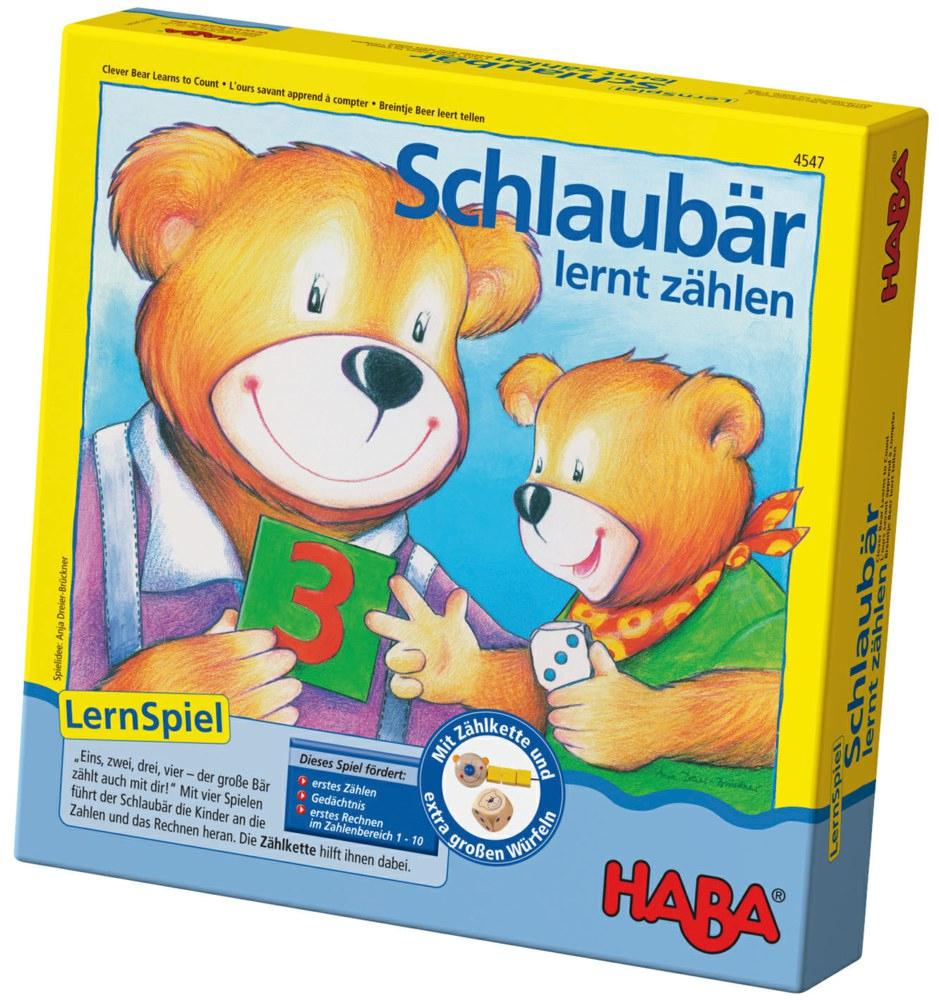 Haba 4547 4010168045474 Schlaubär Lernt Zählen Haba dedans Ours Savant