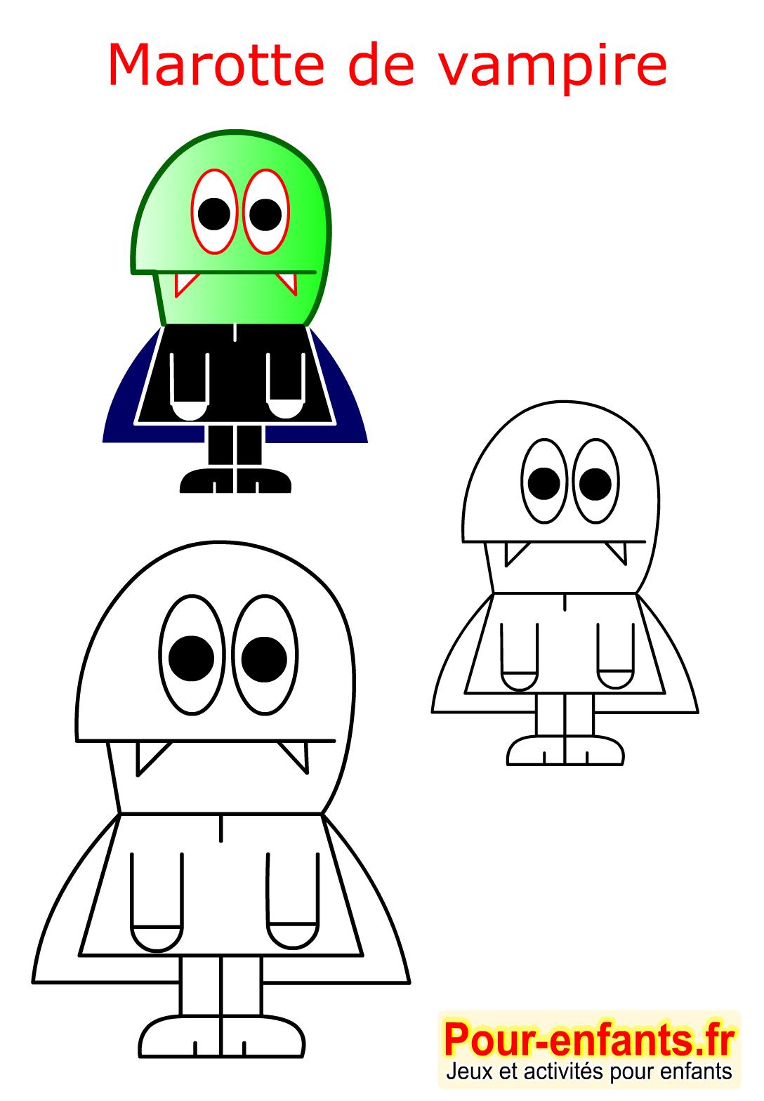 Halloween Bricolage Enfant Fabrication Marionnette Marotte serapportantà Halloween Ce2