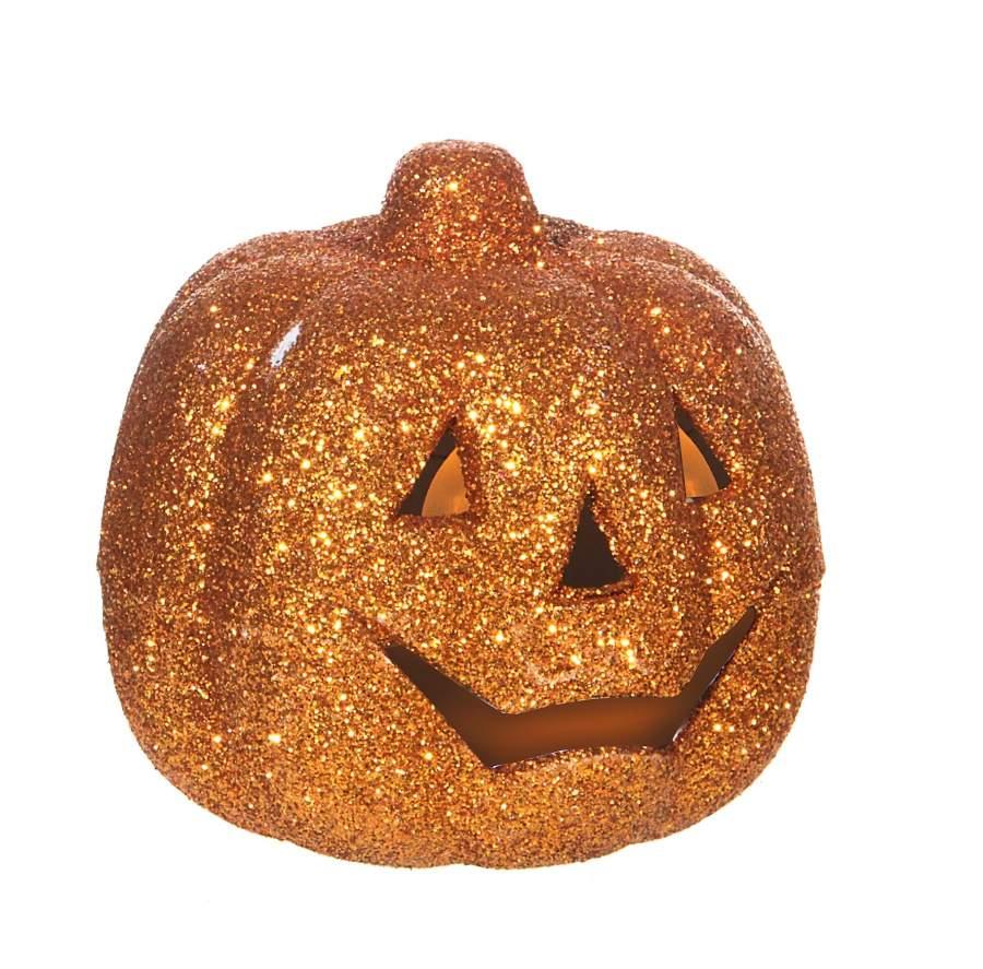 Halloween Kürbis + Totenkopf 2 Led Teelichter, Halloween Pumpkin + Skull 2  Led Tealights, Citrouille D'halloween + Bougies Chauffe-Plat 2 Led avec Photo De Citrouille D Halloween