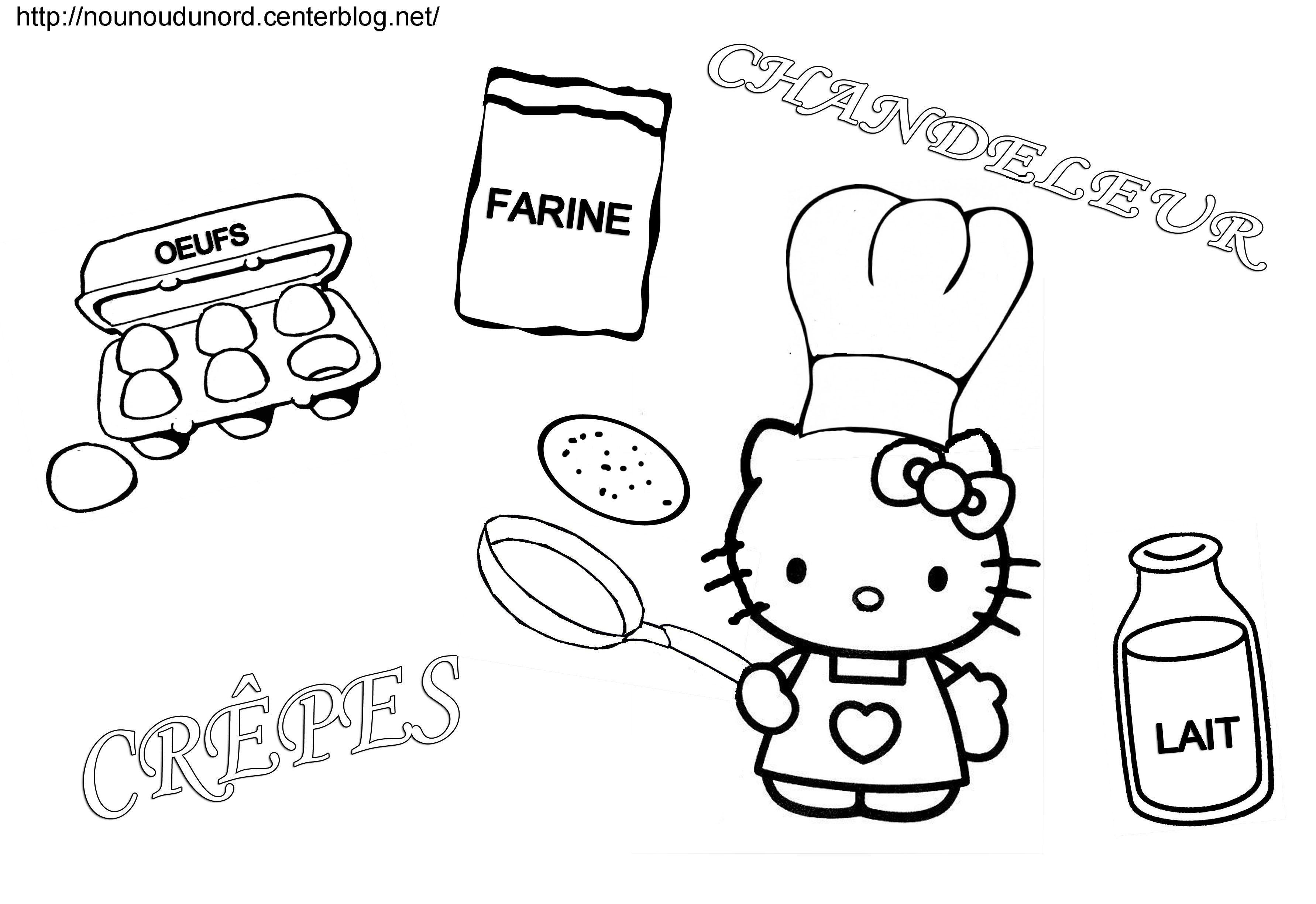 Hello Kitty #193 (Dessins Animés) – Coloriages À Imprimer à Coloriage Février