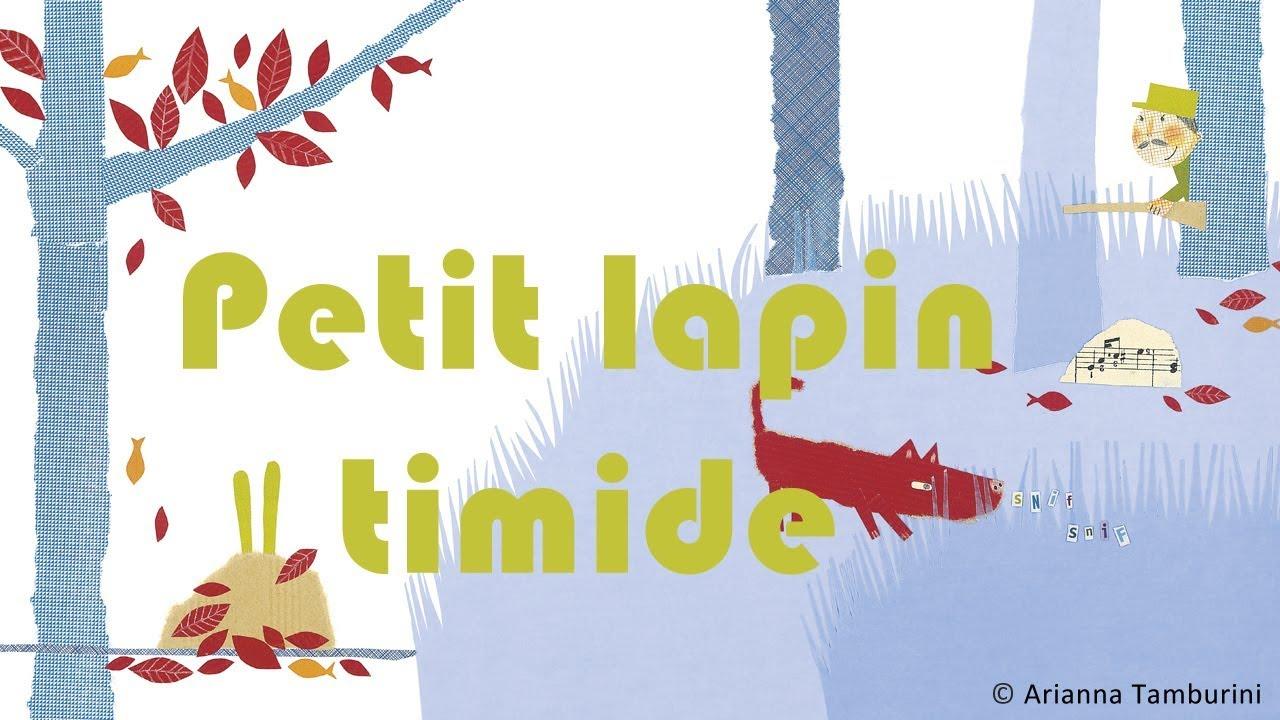 Henri Dès Chante - Petit Lapin Timide - Chanson Pour Enfant serapportantà Chanson Enfant Lapin