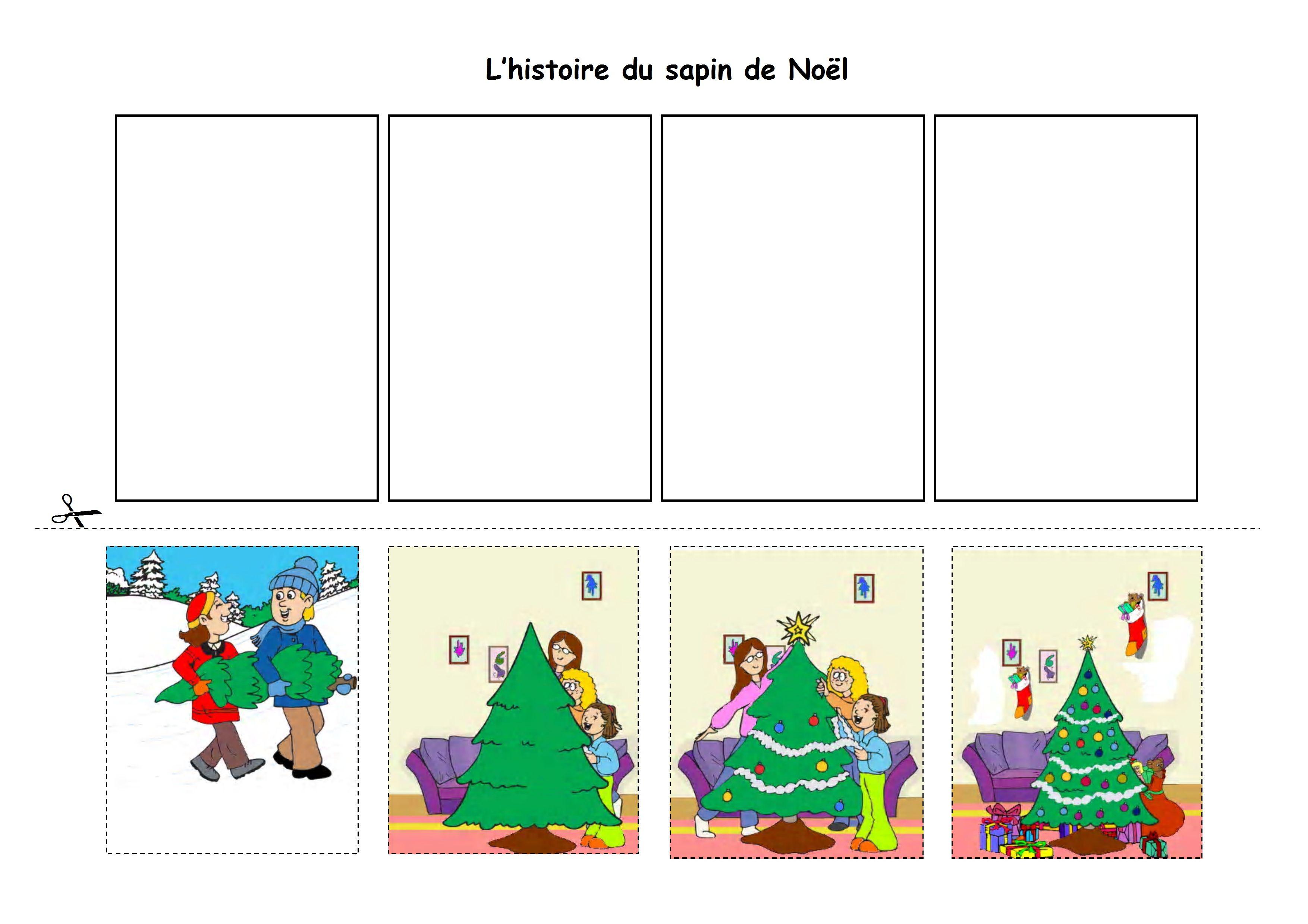 Histoire Séquentielle Noel - Bing Images | Noel Maternelle tout Images Séquentielles Maternelle