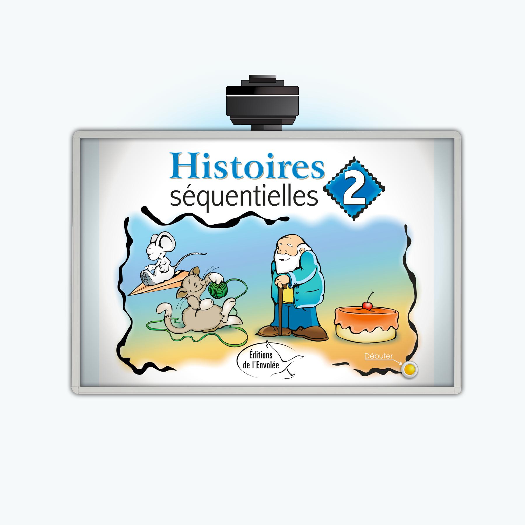 Histoires Séquentielles 2 - Application Tni - Éditions De L à Images Séquentielles Maternelle