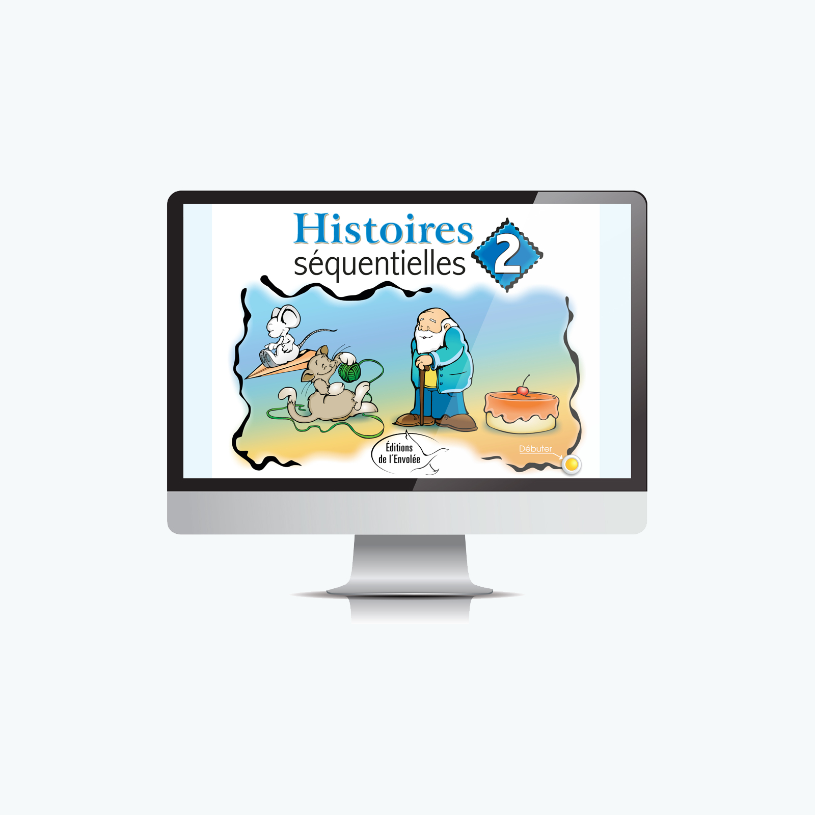 Histoires Séquentielles 2 - Application Tni - Éditions De L pour Images Séquentielles Maternelle