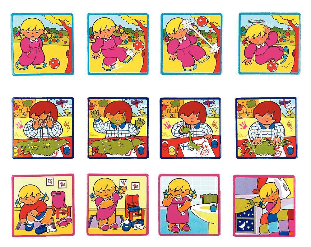 Histoires Sequentielles Niv.2 : Jeux D'observation, Langage tout Images Séquentielles Maternelle