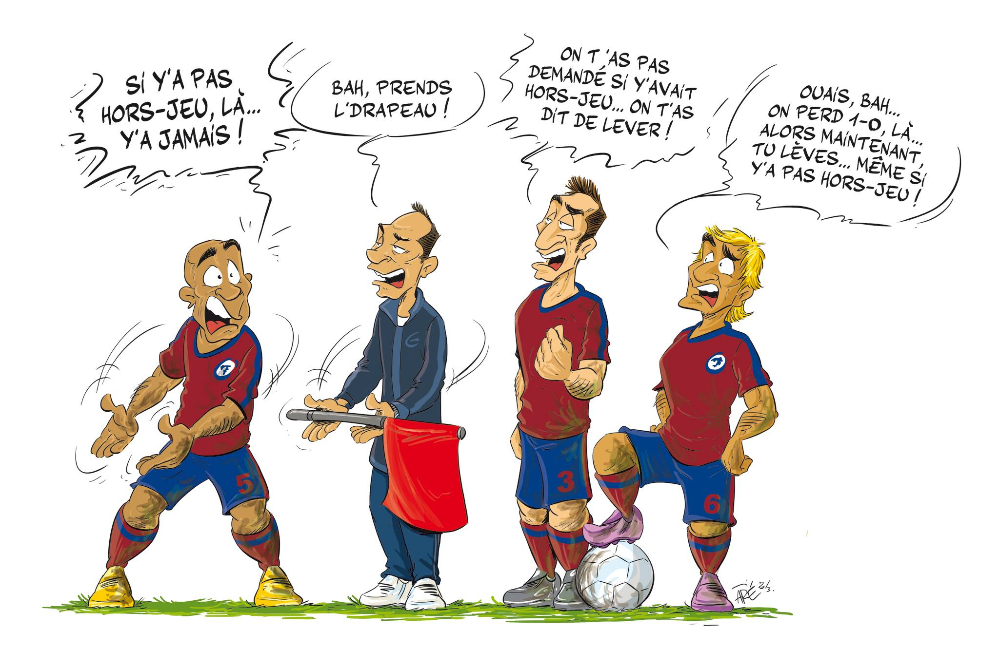 Hors-Jeu – Club Football Football Club Vallon Pont D'arc destiné Jeux De Foot Gardien De But