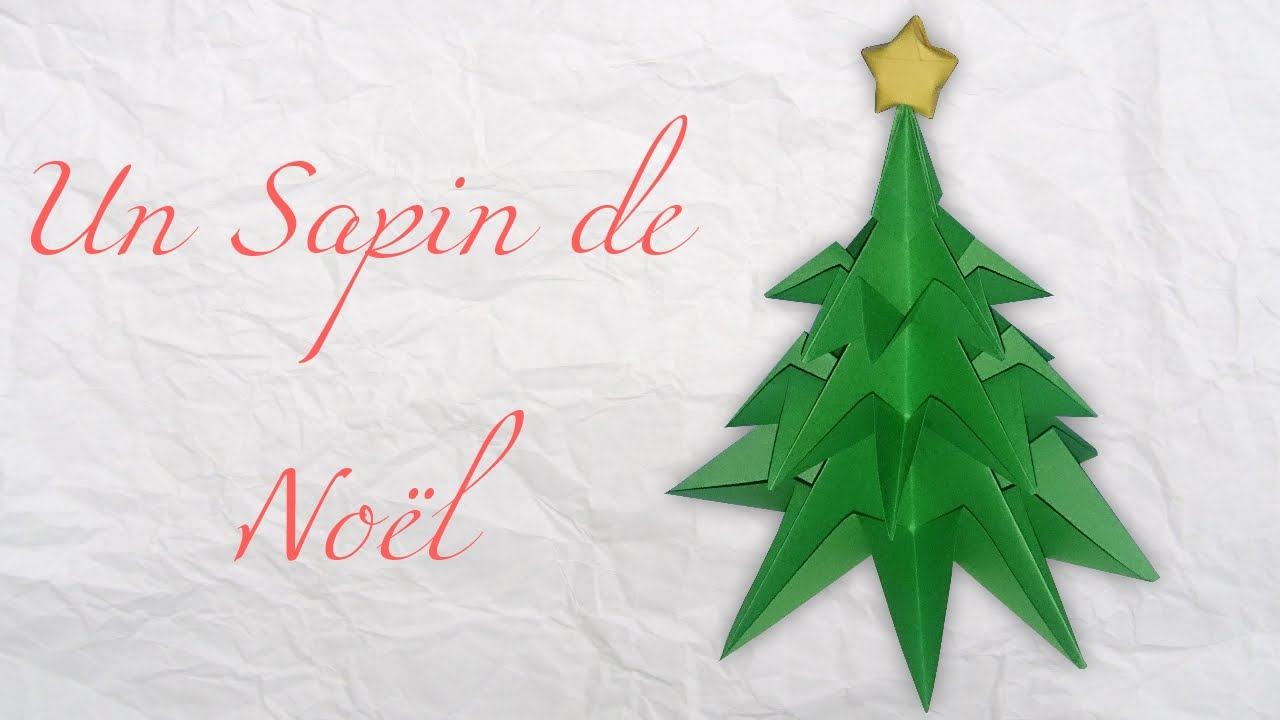 How To Make A Christmas Tree In Paper Origami : Diy Easy And Fast serapportantà Origami Sapin De Noel