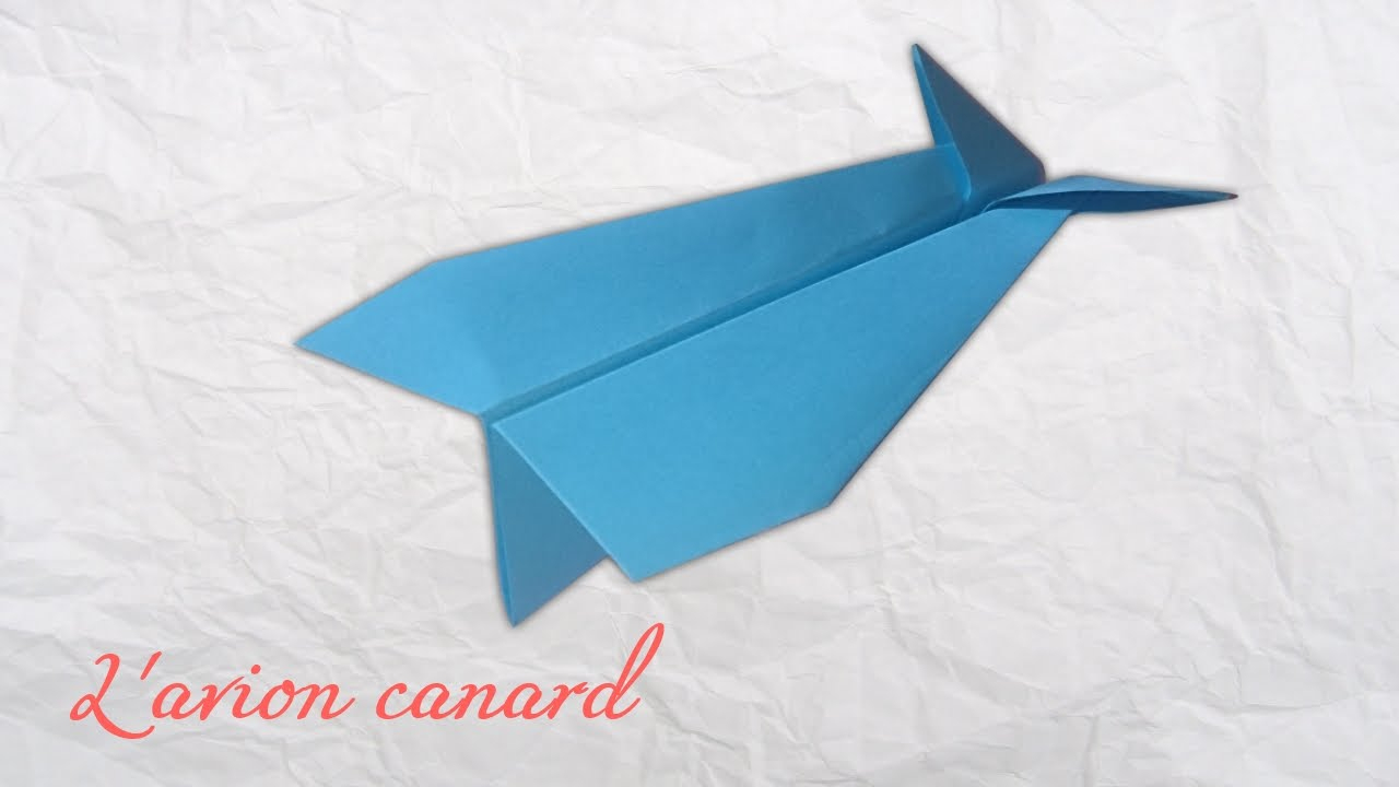 How To Make The Best Paper Plane, The Duck Plane ! The Best Diy Paper Plane encequiconcerne Origami Canard
