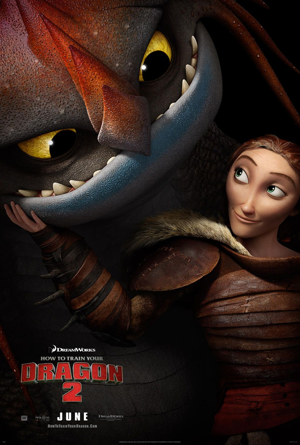 How To Train Your Dragon 2 -- Very Beautiful Movie And dedans Film D Animation Dreamworks