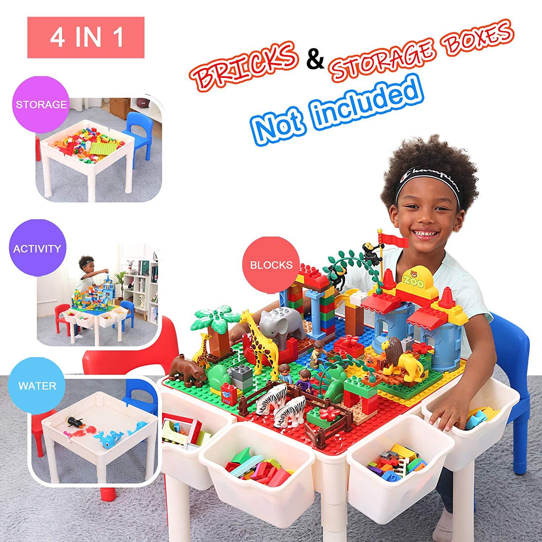 Idéal Pour Jouer Avec Des Lego Ou Des Duplo : La Table Ronde encequiconcerne Jeux Pour Enfant De 3 Ans