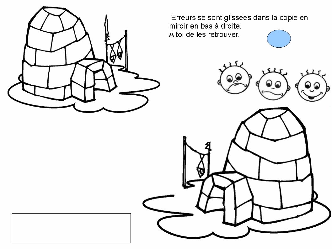 Igloo #48 (Bâtiments Et Architecture) – Coloriages À Imprimer pour Coloriage Igloo