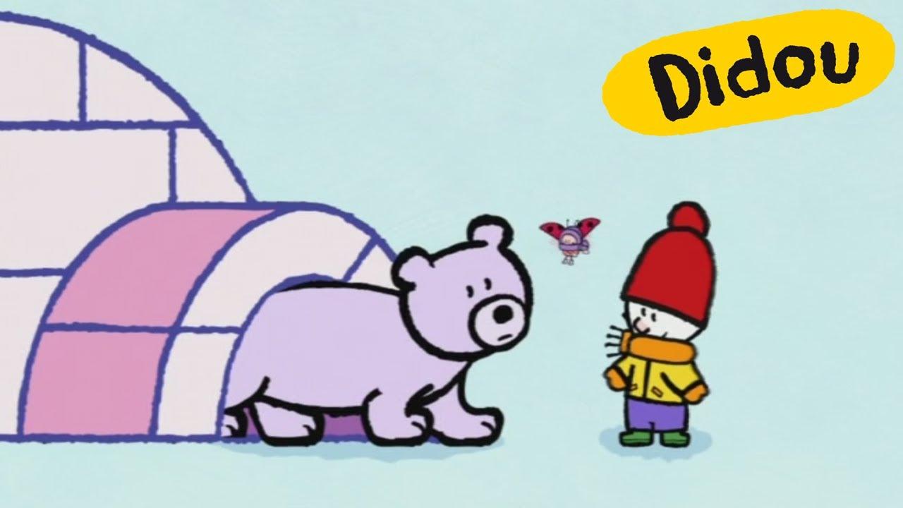 Igloo - Didou, Dessine-Moi Un Igloo | Dessins Animés Pour Les Enfants ,  Plus 🎨 Ici ⬇⬇⬇ encequiconcerne Coloriage Igloo