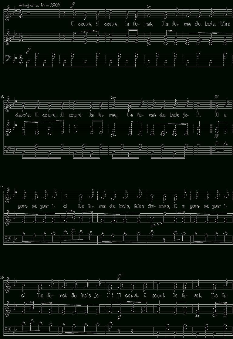 Il Court, Il Court, Le Furet — Wikipédia tout Retrouver Une Musique Avec Parole