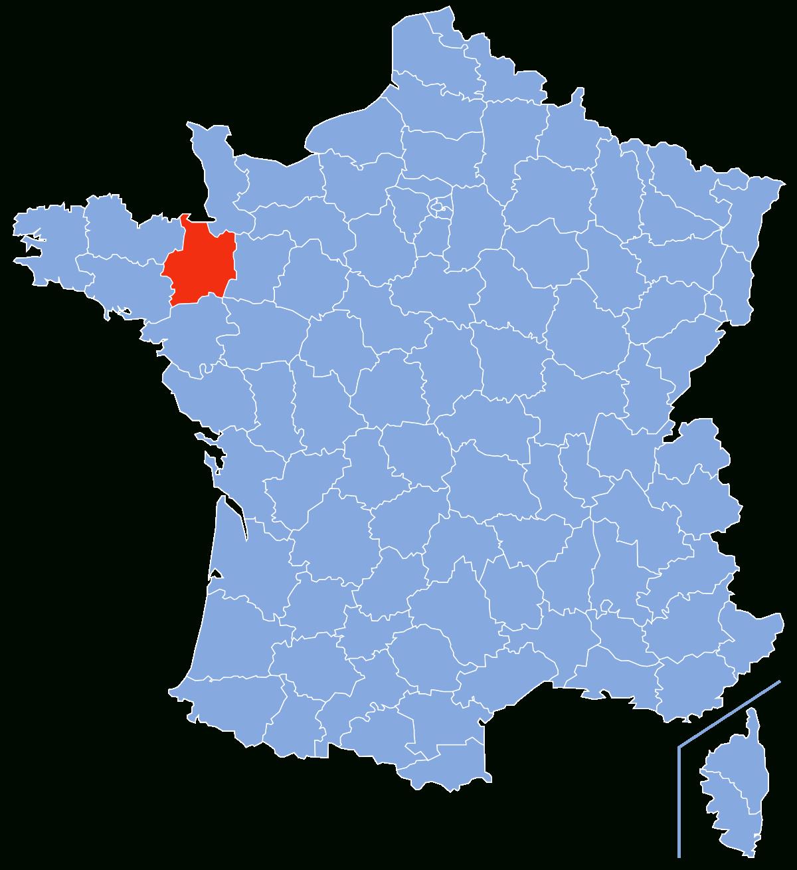 Ille-Et-Vilaine — Wikipédia pour Carte De France Pour Les Enfants