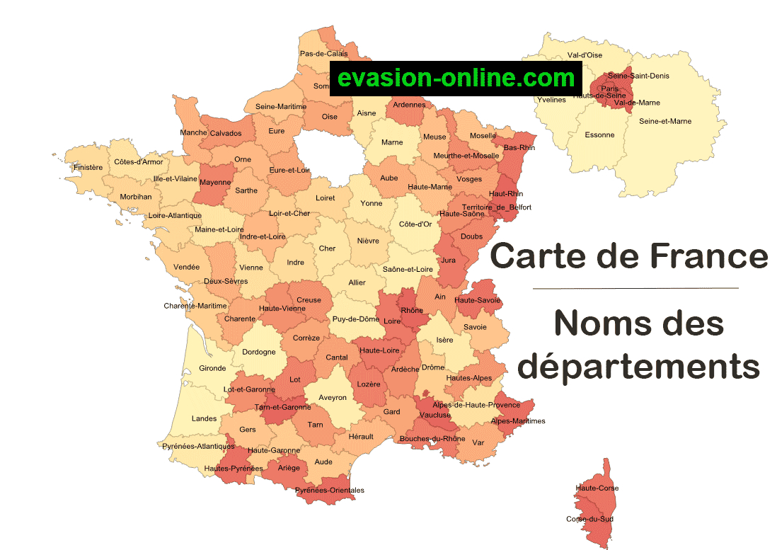 Images De Plans Et Cartes De France » Vacances - Arts avec Carte Numero Departement