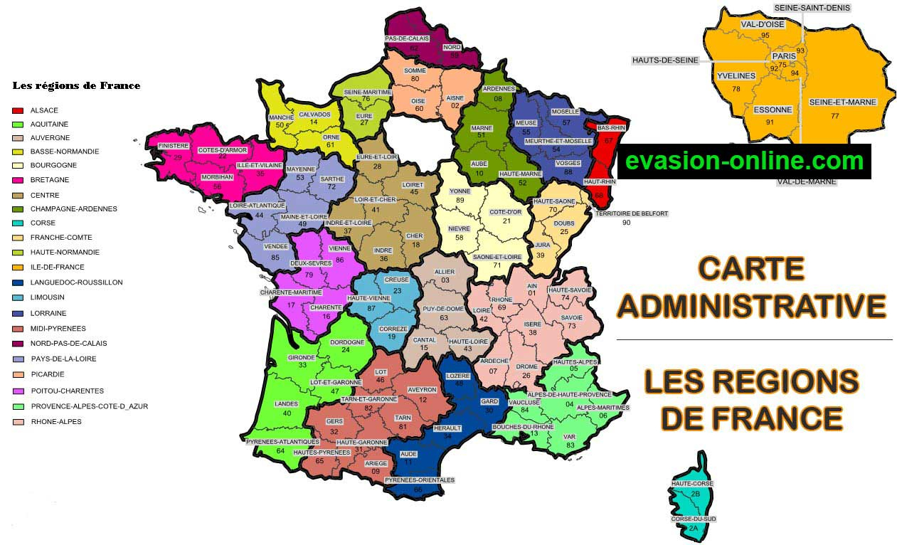 Images De Plans Et Cartes De France » Vacances - Arts encequiconcerne Carte De France Avec Département À Imprimer