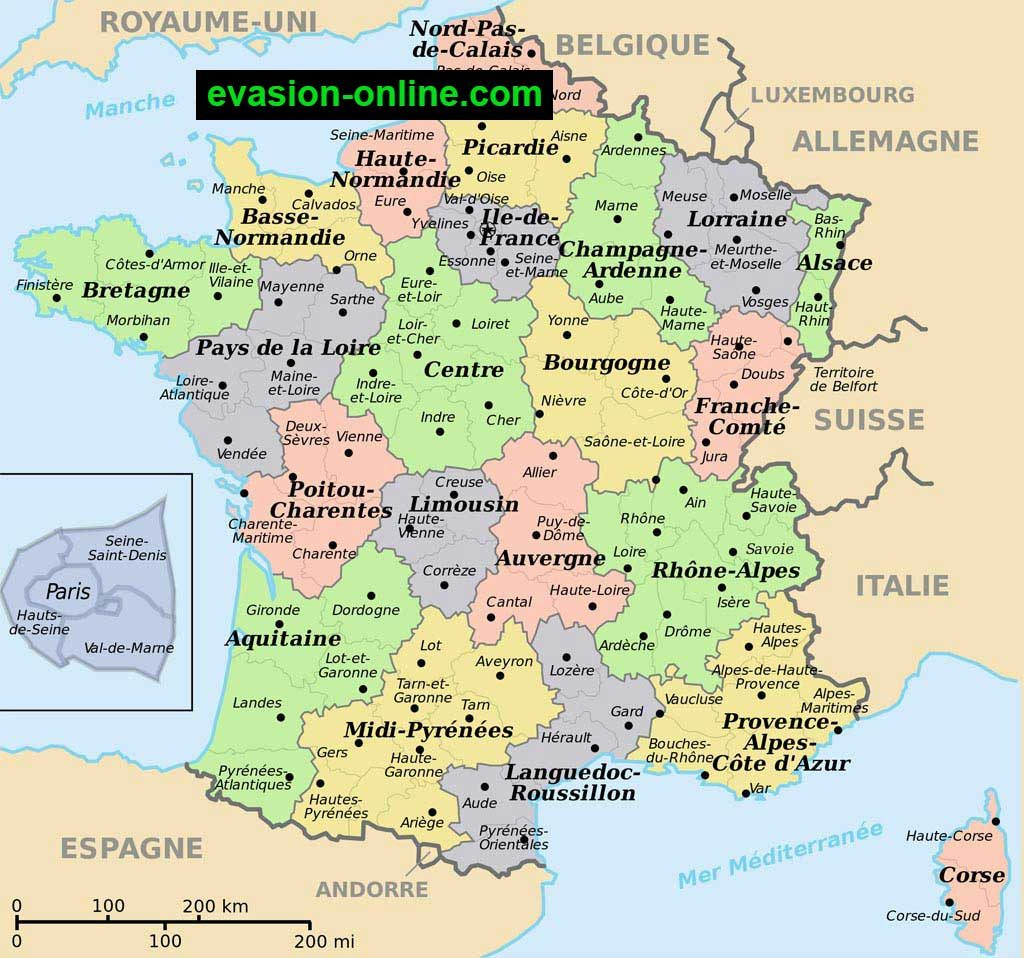 Images De Plans Et Cartes De France » Vacances - Arts encequiconcerne Carte Numero Departement