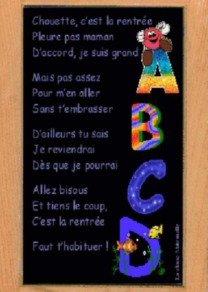 Images Pour Blog Bonne Rentree - Page 23 serapportantà Image Bonne Rentrée Des Classes