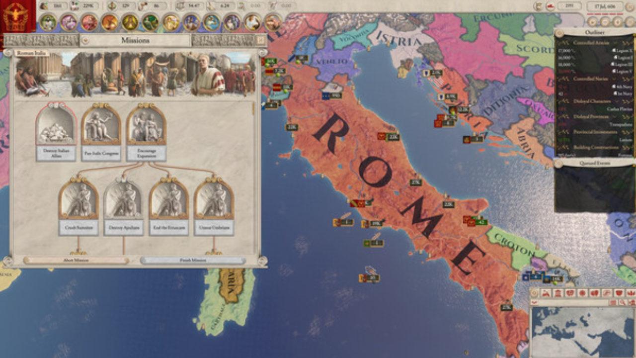 Imperator : Rome Est Jouable Gratuitement Jusqu'à Dimanche pour Jeux De Puissance 4 Gratuit