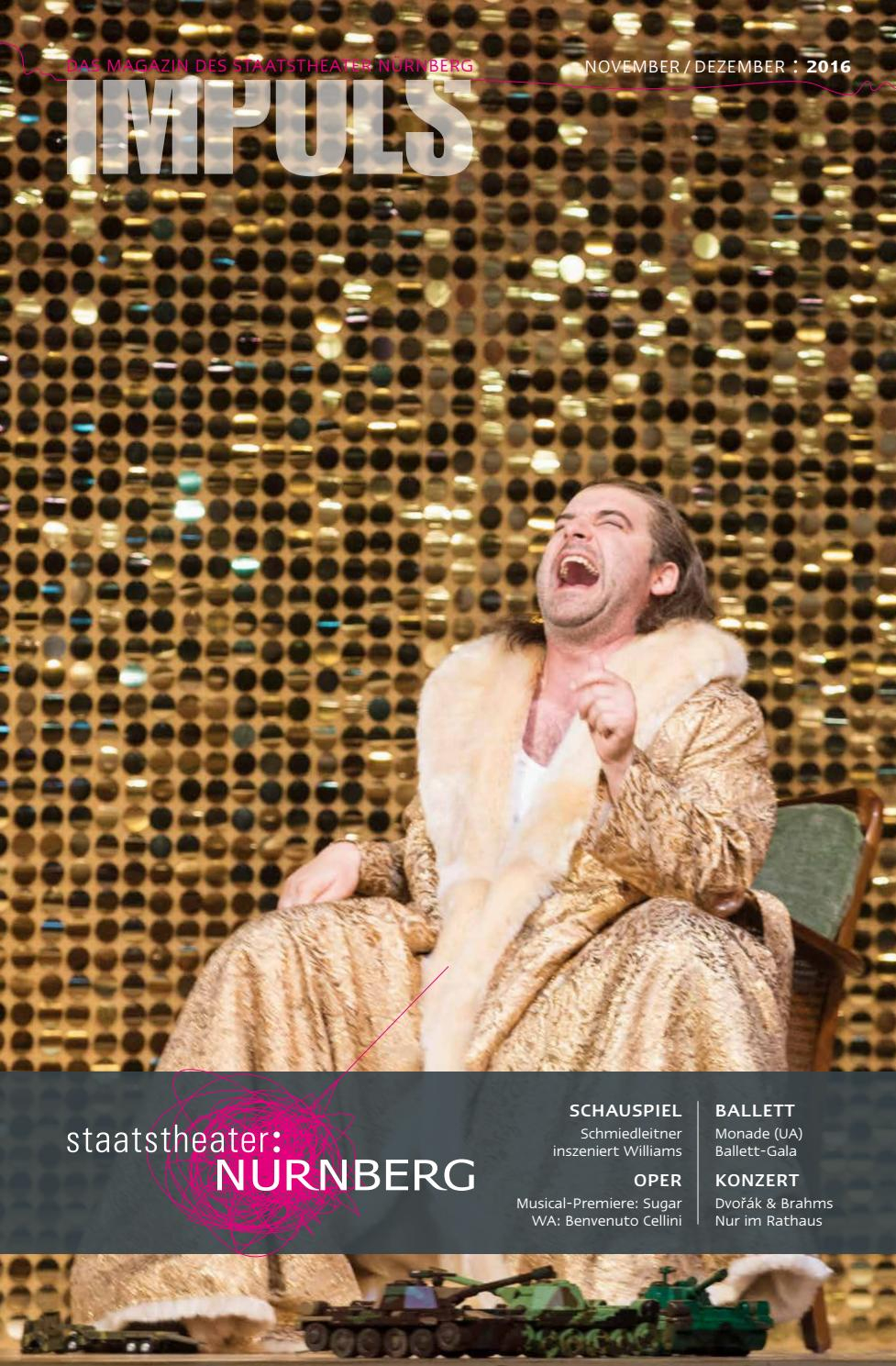 Impuls November / Dezember 2016 By Staatstheater Nürnberg tout Singe De Babar
