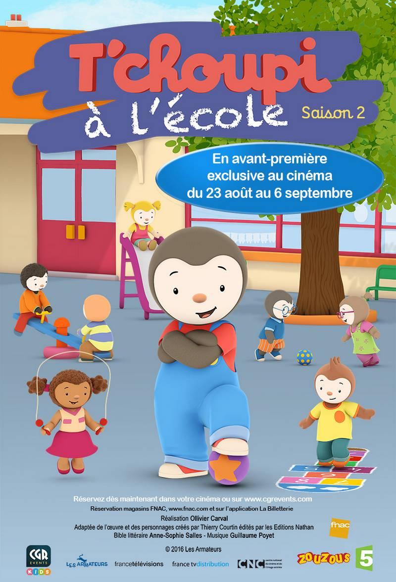 Inédit ! T'choupi À L'école, Saison 2, Au Cinéma - Récréatiloups Finistère ! tout Episode Tchoupi