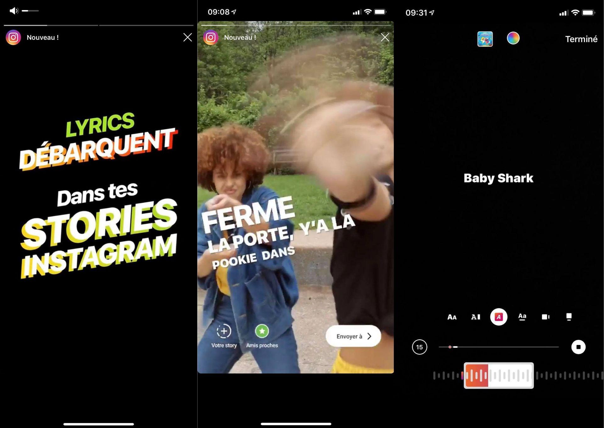 Instagram Affiche Désormais Les Paroles Des Chansons Dans avec Retrouver Une Musique Avec Parole
