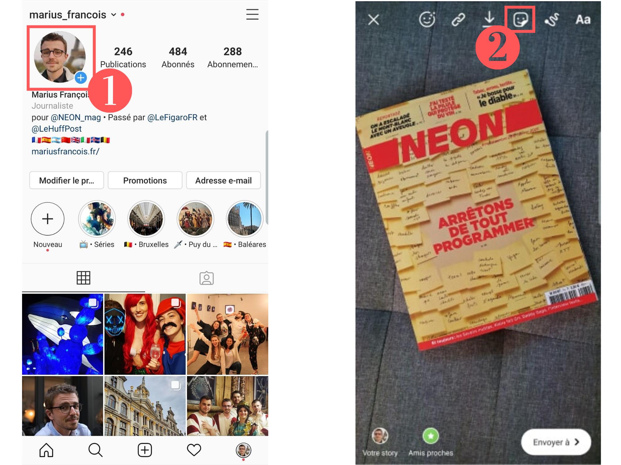 Instagram : Comment Mettre De La Musique Sur Une Story ? - Neon à Retrouver Une Musique Avec Parole