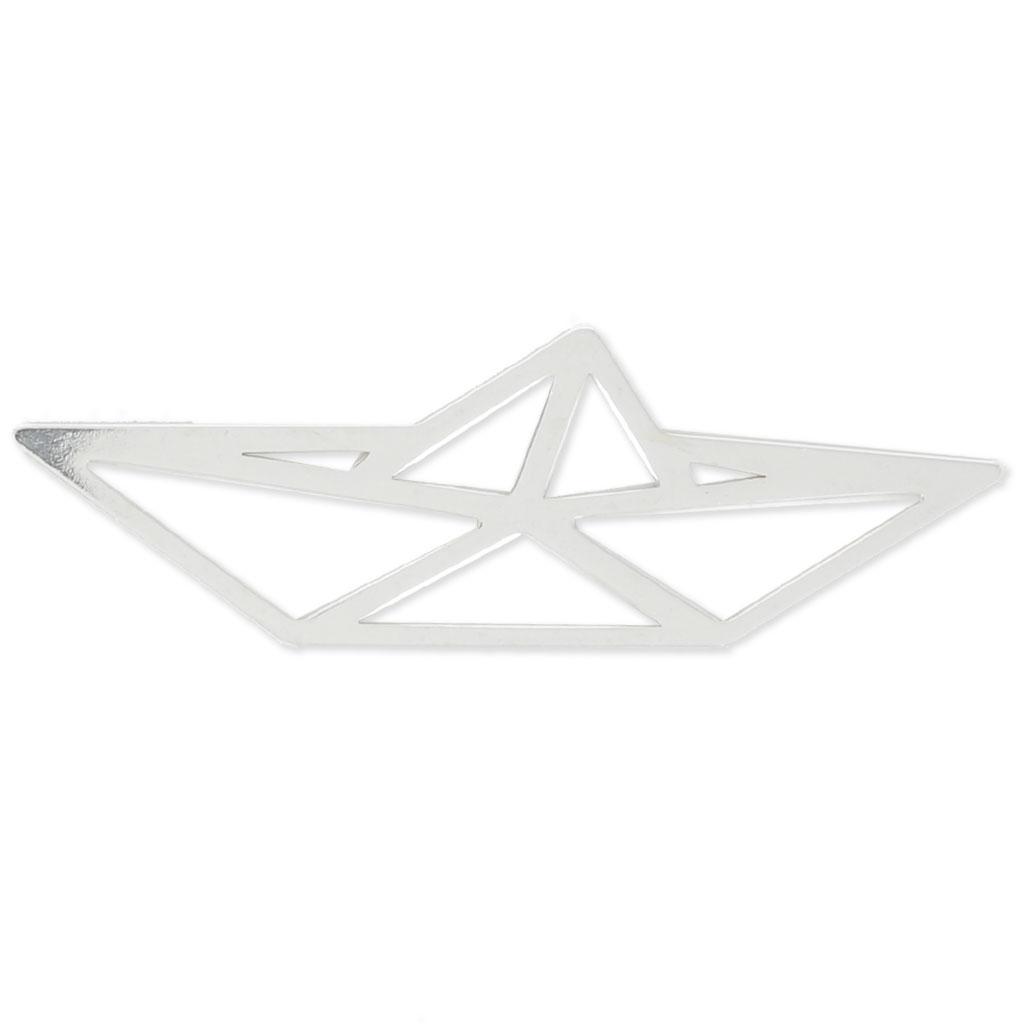 Intercalaire/pendentif Origami Petit Bateau 35X11 Mm En Argent 925 X1 à Origami Petit Bateau