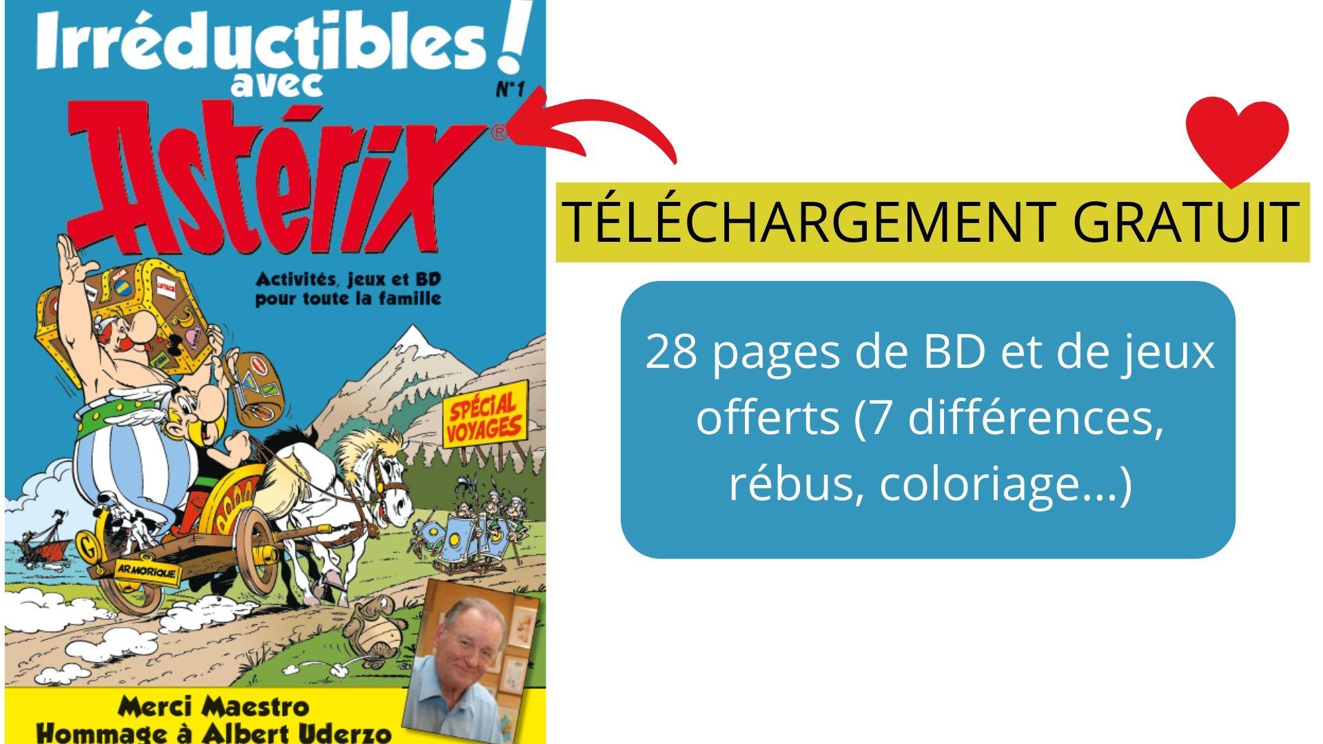 Irréductibles Avec Astérix : 28 Pages De Bd Et De Jeux avec Jeux De Rebus