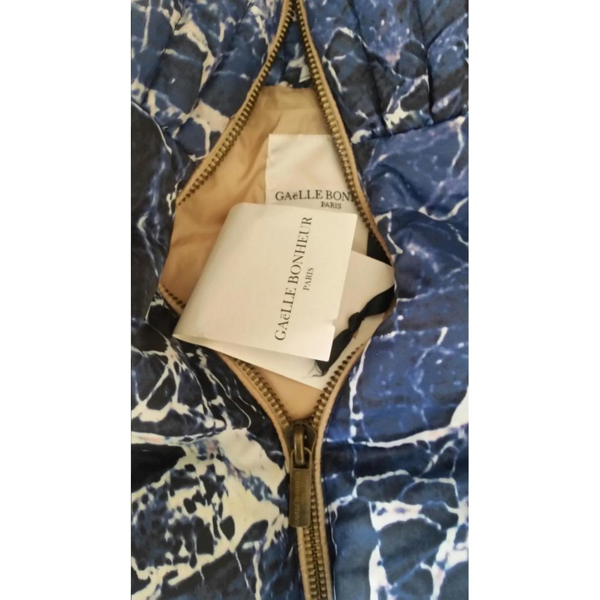 Jacke Polyester Blau destiné Bon The Bonheur