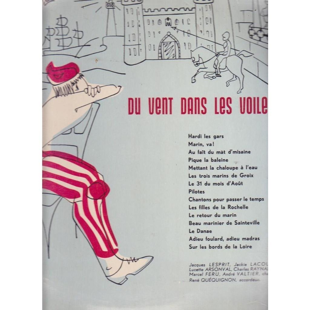 Jacques Lesprit Du Vent Dans Les Voiles.chansons De Marins encequiconcerne Le Vent Dans Les Voiles Chanson