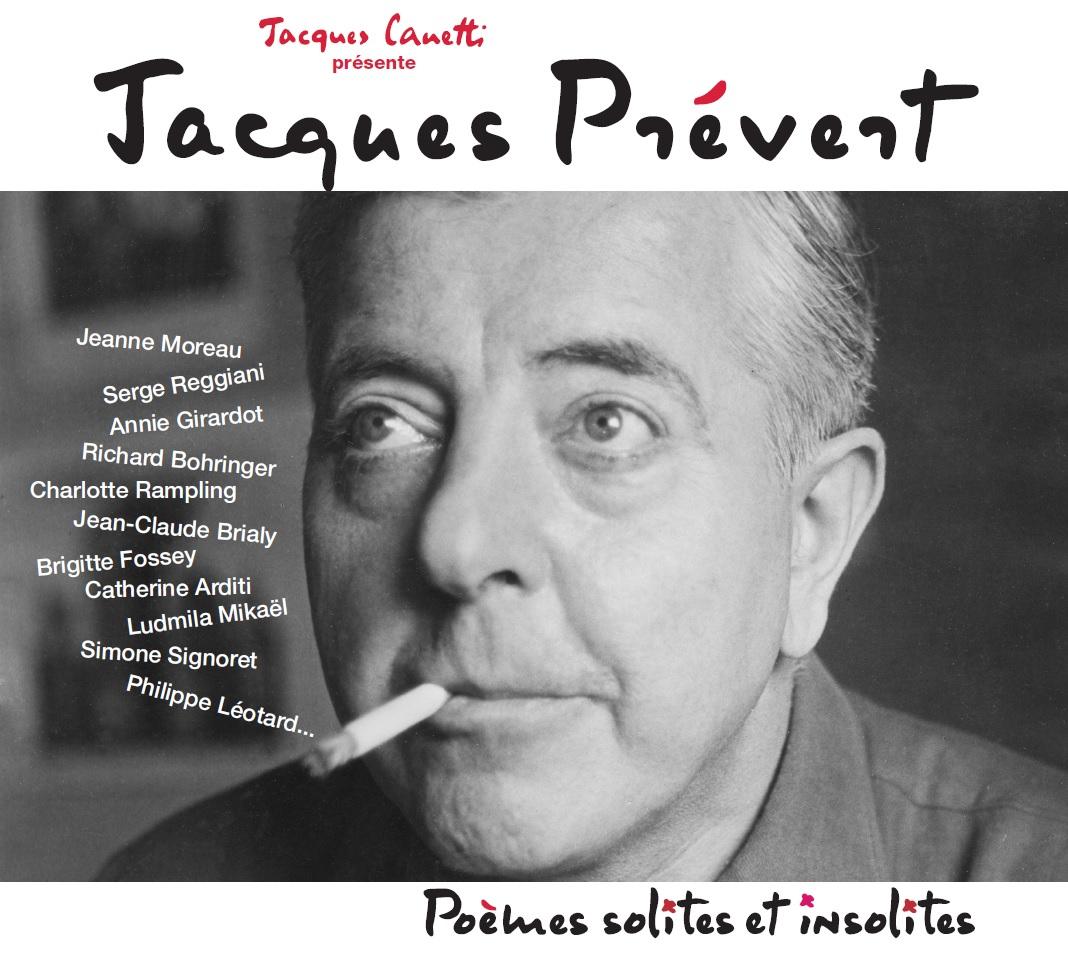 Jacques Prévert - Poèmes Solites Et Insolites (Cd) serapportantà Poeme De Jacque Prevert