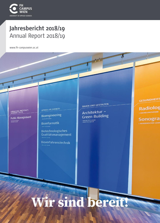 Jahresbericht 2018/19 By Fh Campus Wien - Issuu destiné Rallye Lecture Fr Ma Classe