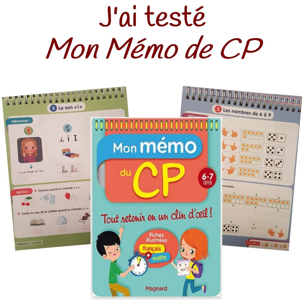 "J'ai Testé : ""Mon Mémo De Cp"" Par Lutin Bazar encequiconcerne Lutin Bazar Poésie"
