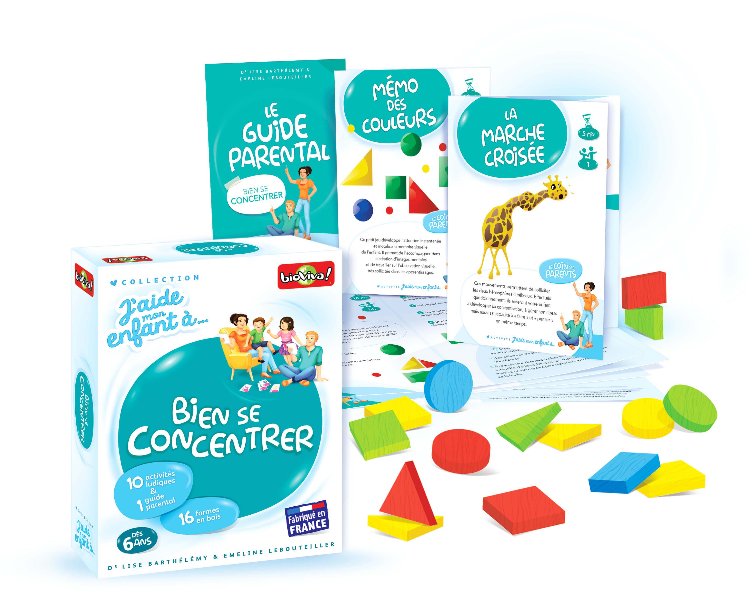 J'aide Mon Enfant À Bien Se Concentrer à Jeux De Memoire Enfant