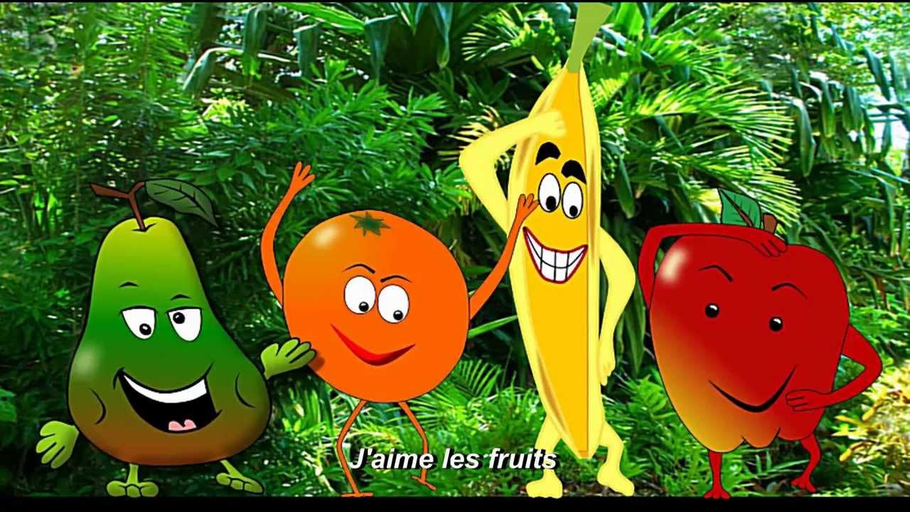 J'aime Les Fruits - Alain Le Lait (I Like Fruits) encequiconcerne Chanson Sur Les Fruits Et Légumes