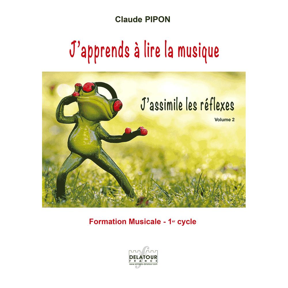 J'apprends À Lire La Musique - J'assimile Les Réflexes - Band 2 serapportantà Musique Cycle 2