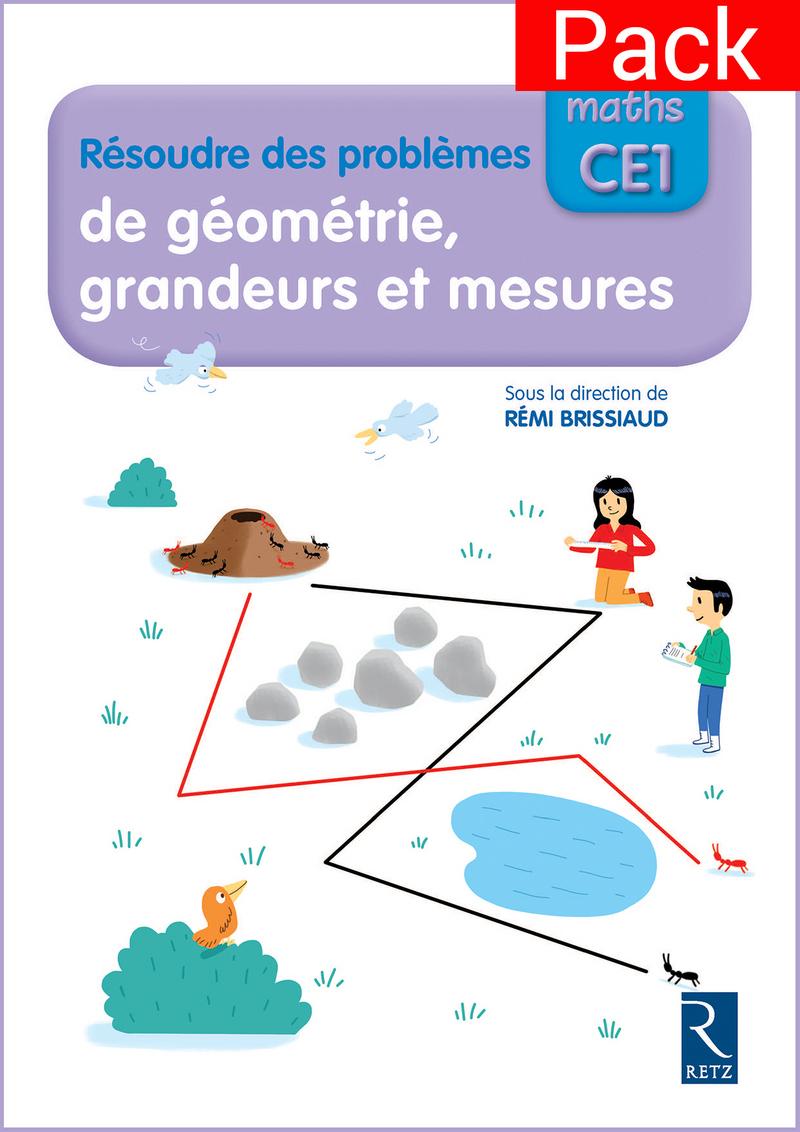 J'apprends Les Maths Ce1 - Cahier Résoudre Des Problèmes De pour Fiche Géométrie Cp