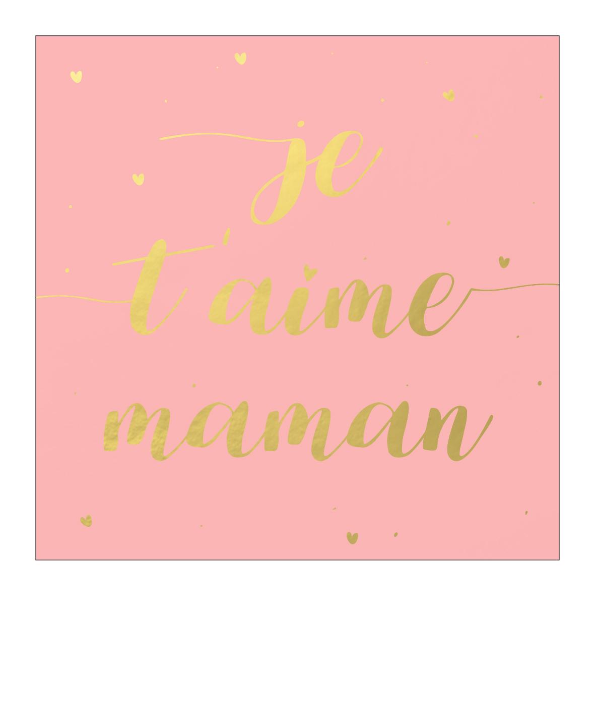 """je T'aime Maman"" tout Texte Maman Je T Aime"