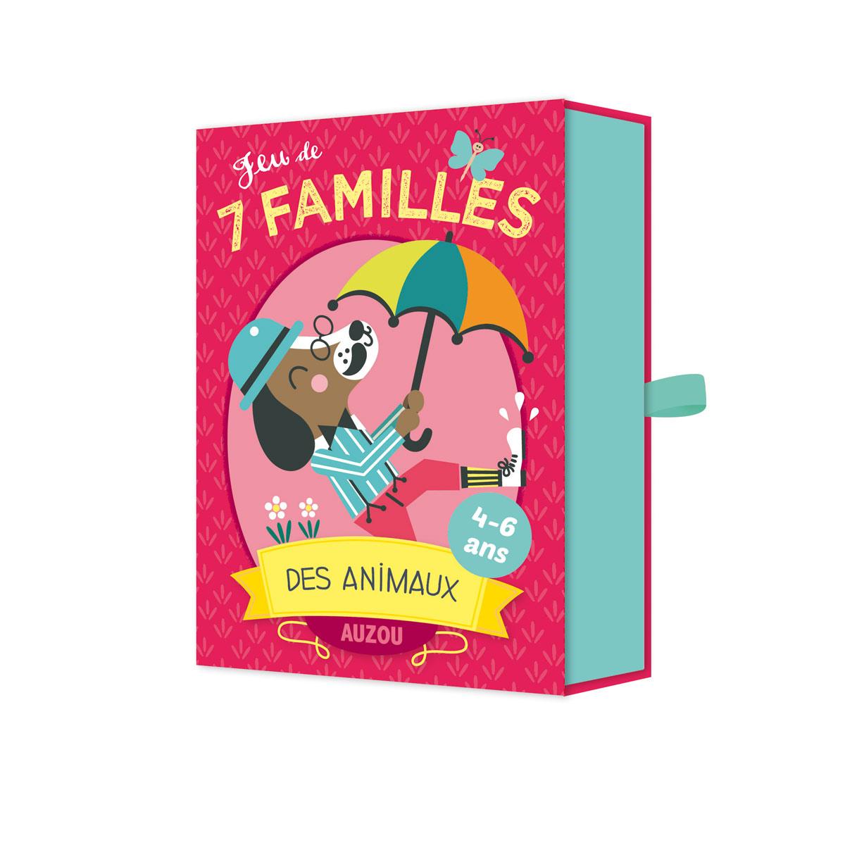 Jeu De 7 Familles Des Animaux intérieur Ce Soir On Joue En Famille 3