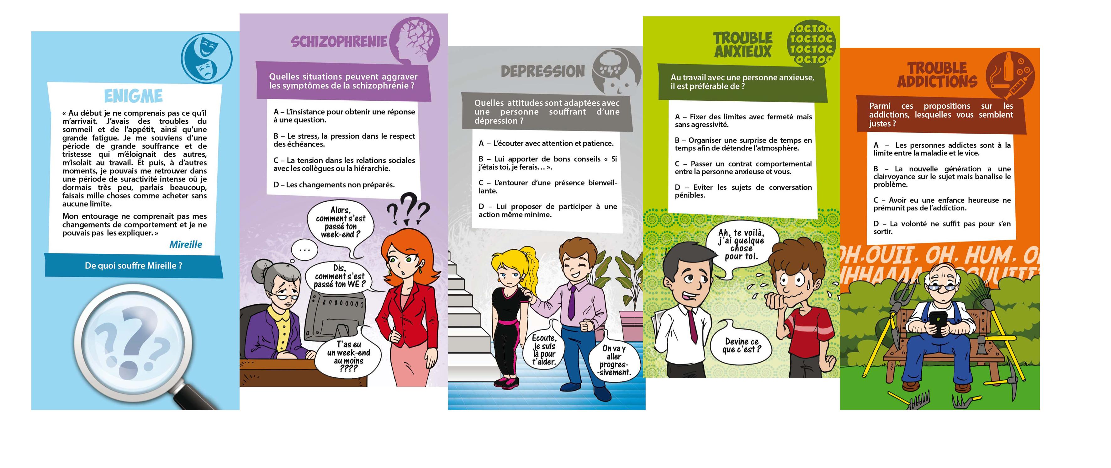 Jeu De Cartes Les Handipsys destiné Jeux De Différence